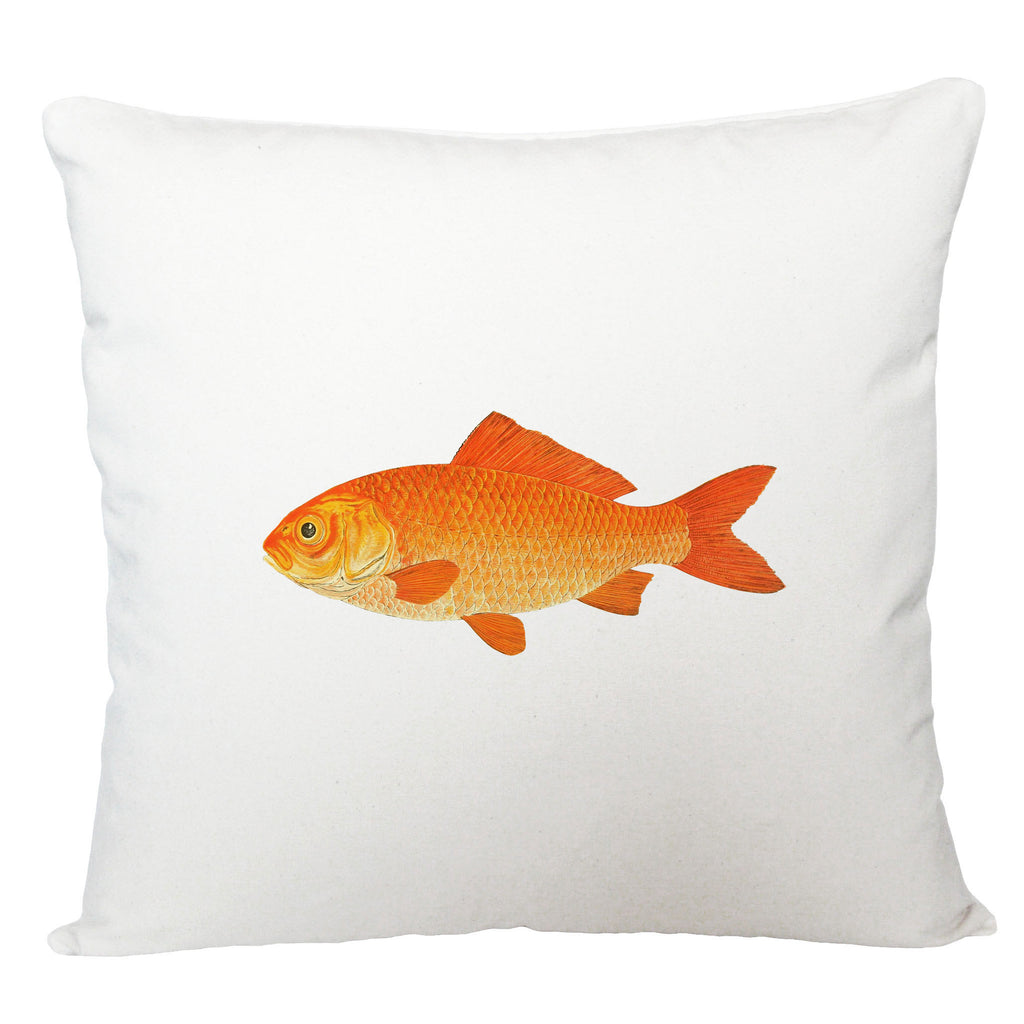 Gold fish cushion cover