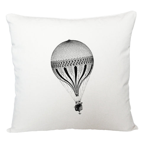 Hot air balloon with anchor cushion cover