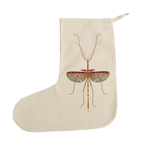 Insect Christmas stocking