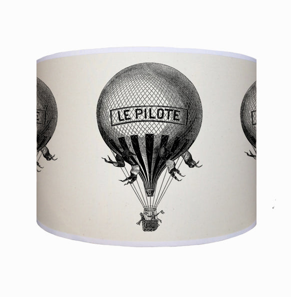 French hot air balloon shade
