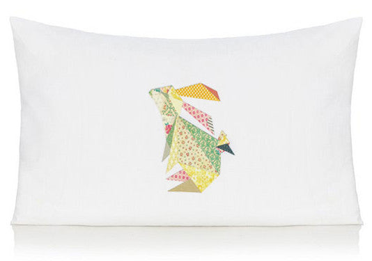 Triangle rabbit pillow case