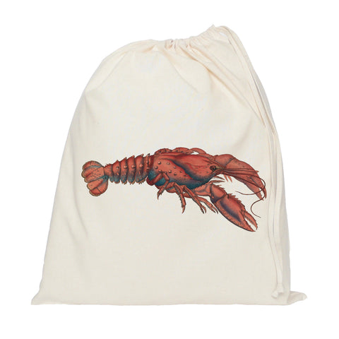 Lobster drawstring bag