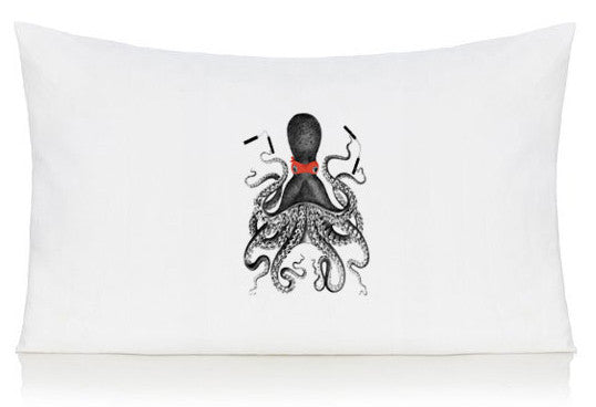 Ninja octopus pillow case