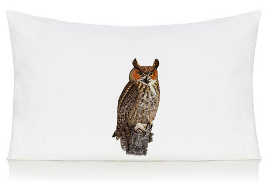 Owl pillow case