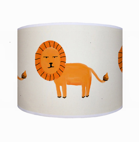 Orange lion shade