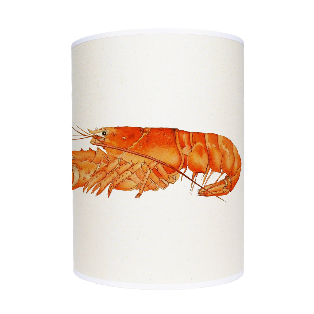 Orange lobster lamp shade/ ceiling shade