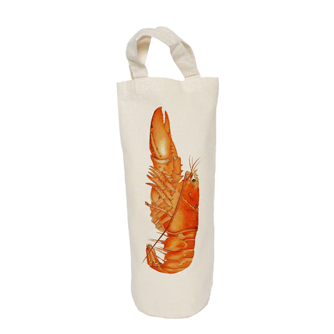 Orange lobster bottle bag