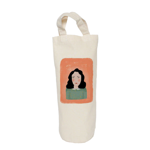 Painted lady bottle bag
