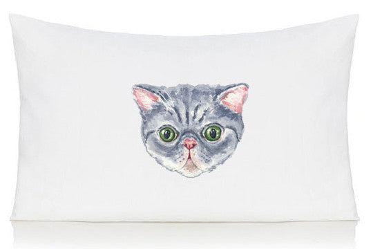 Persian cat pillow case
