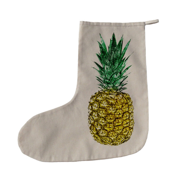 Pineapple Christmas stocking