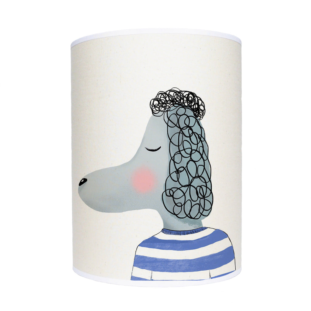 Poodle lamp shade/ ceiling shade