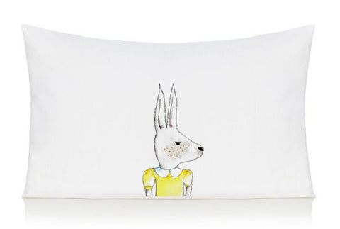 Rabbit pillow case