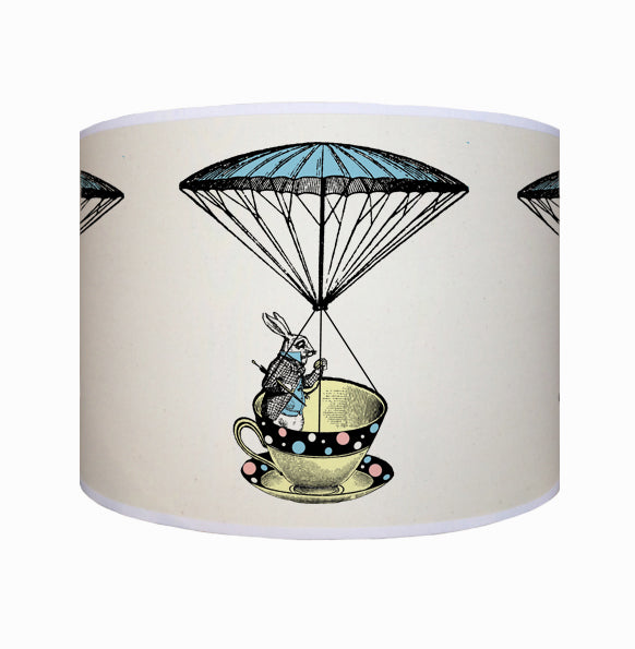 Alice in Wonderland, rabbit in a teacup shade
