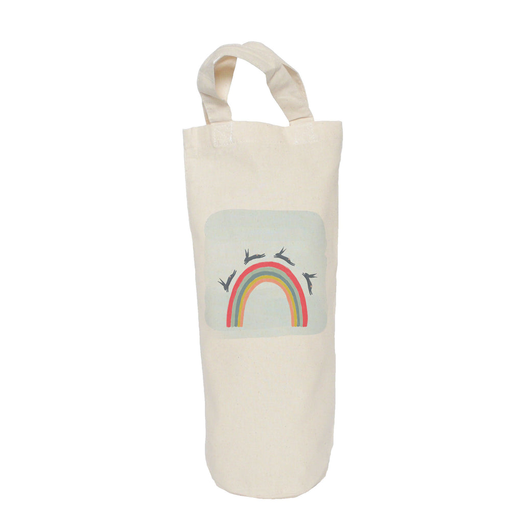 Rainbow bottle bag