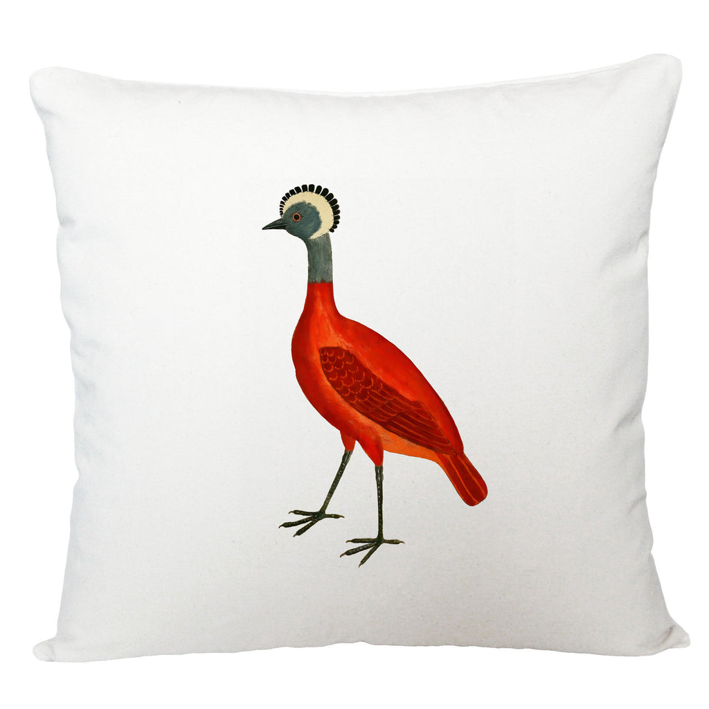 Red Bird cushion cover