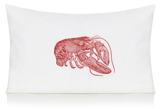 Red lobster pillow case