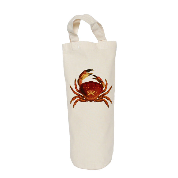 Red crab bottle bag