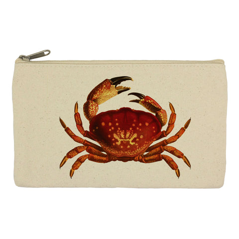 Red crab pencil case