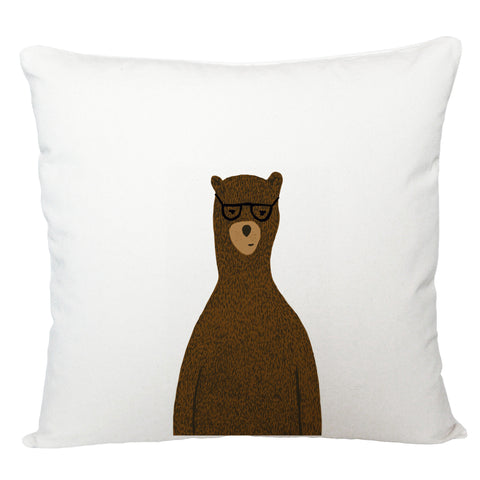 Reginald the bear cushion cover