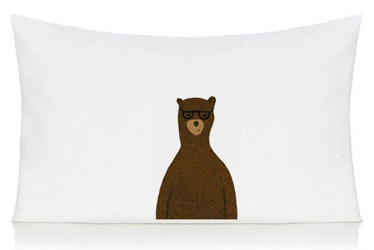 Reginald the bear pillow case