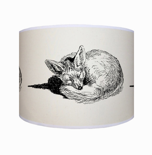 Sleeping fox shade