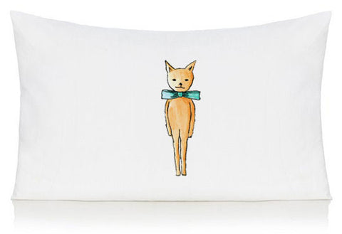 Smart cat pillow case