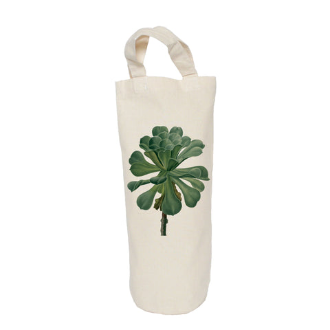 Succulent bottle bag