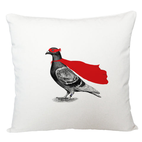 Super pigeon cushion cover