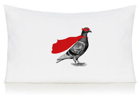 Super pigeon pillow case