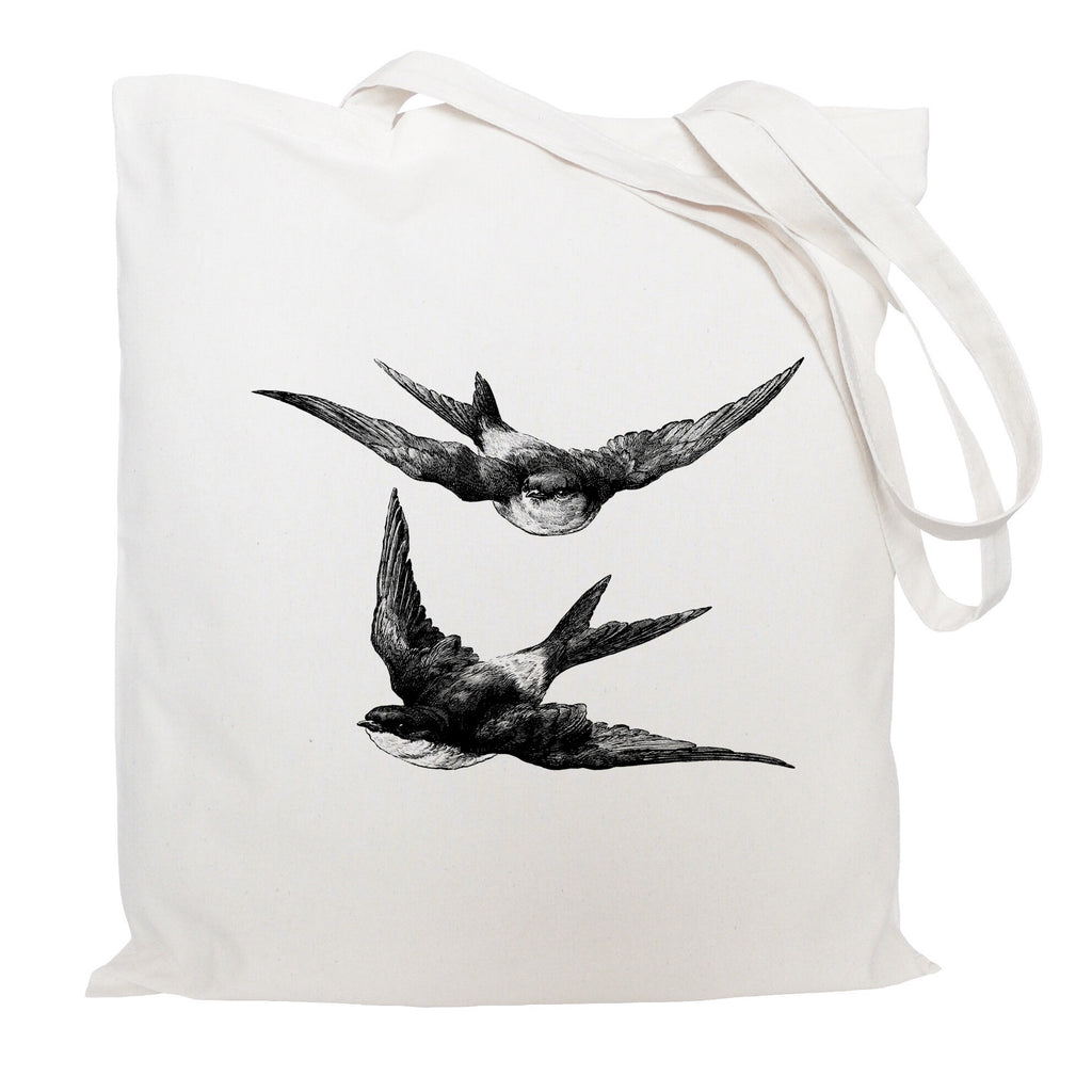 Swallows tote bag