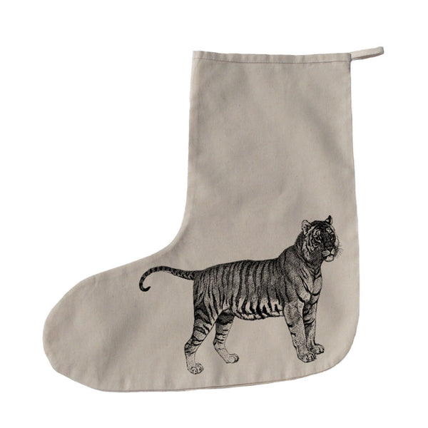 Tiger Christmas stocking