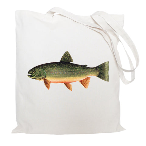Trout tote bag