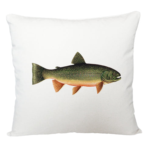 Trout cushion cover