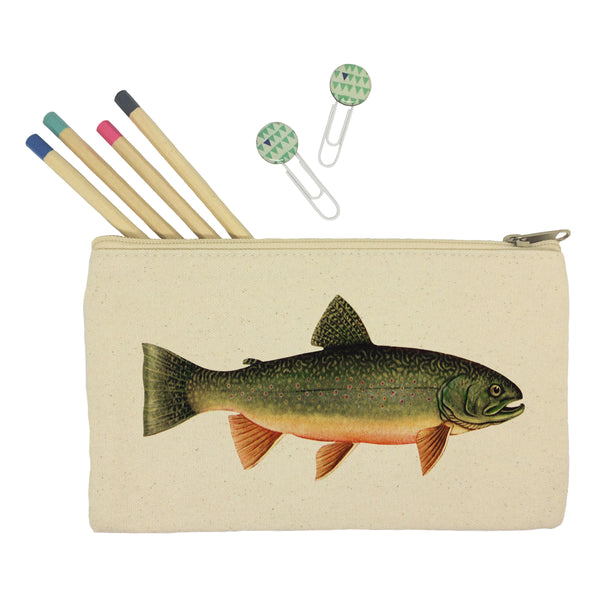 Trout pencil case