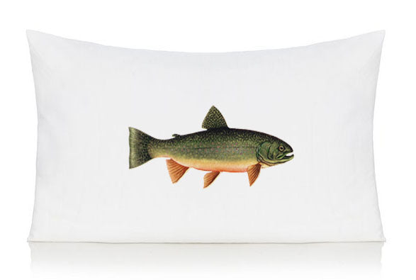 Trout pillow case