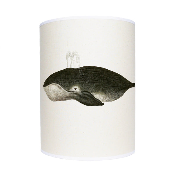 Black whale lamp shade/ ceiling shade
