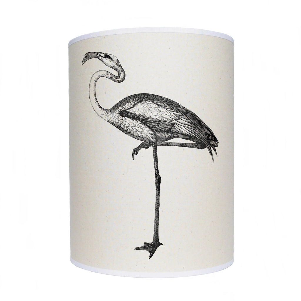Black and white bird lamp shade/ ceiling shade