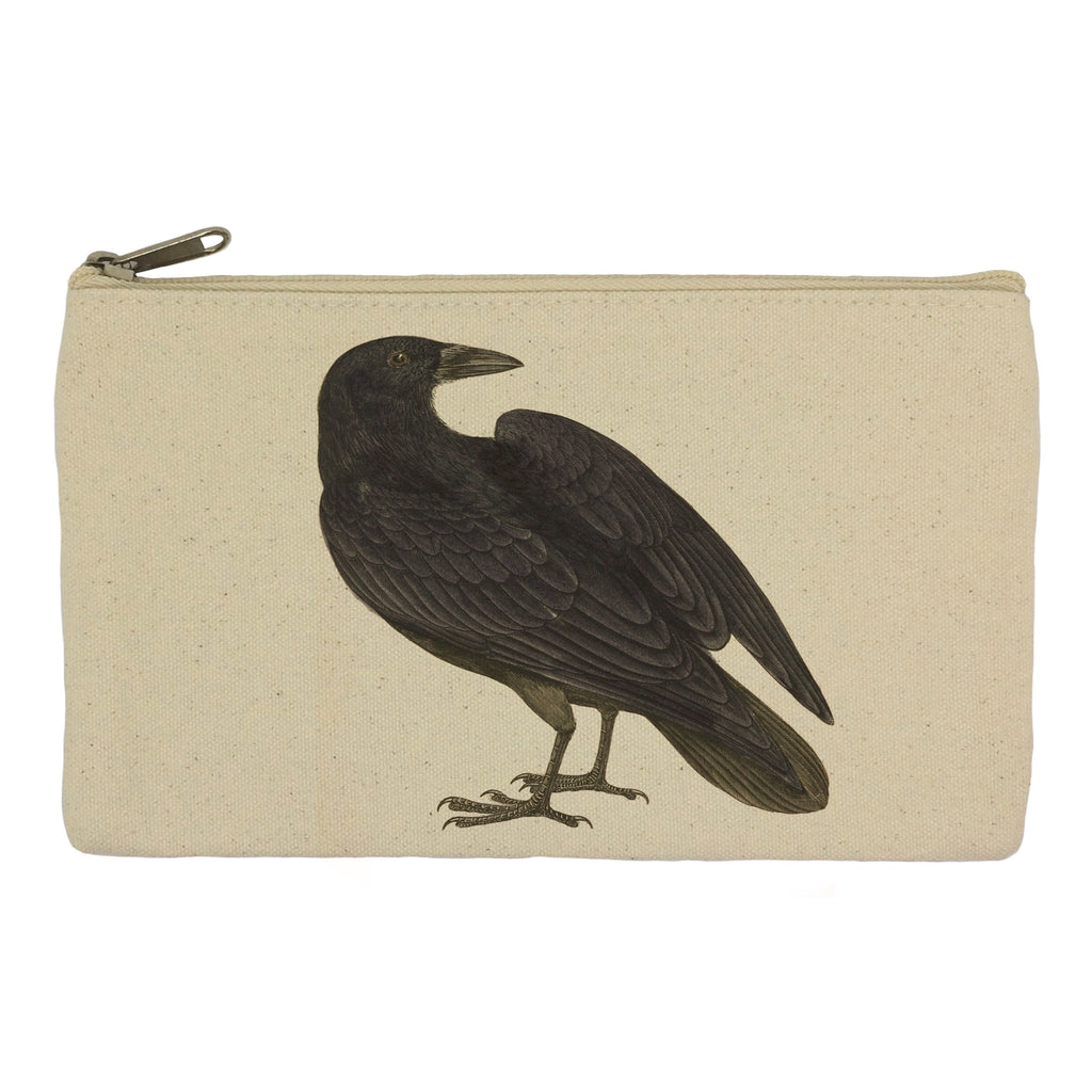 Black bird pencil case