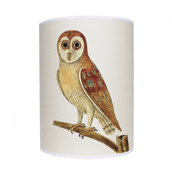 Owl lamp shade/ ceiling shade/ brown owl