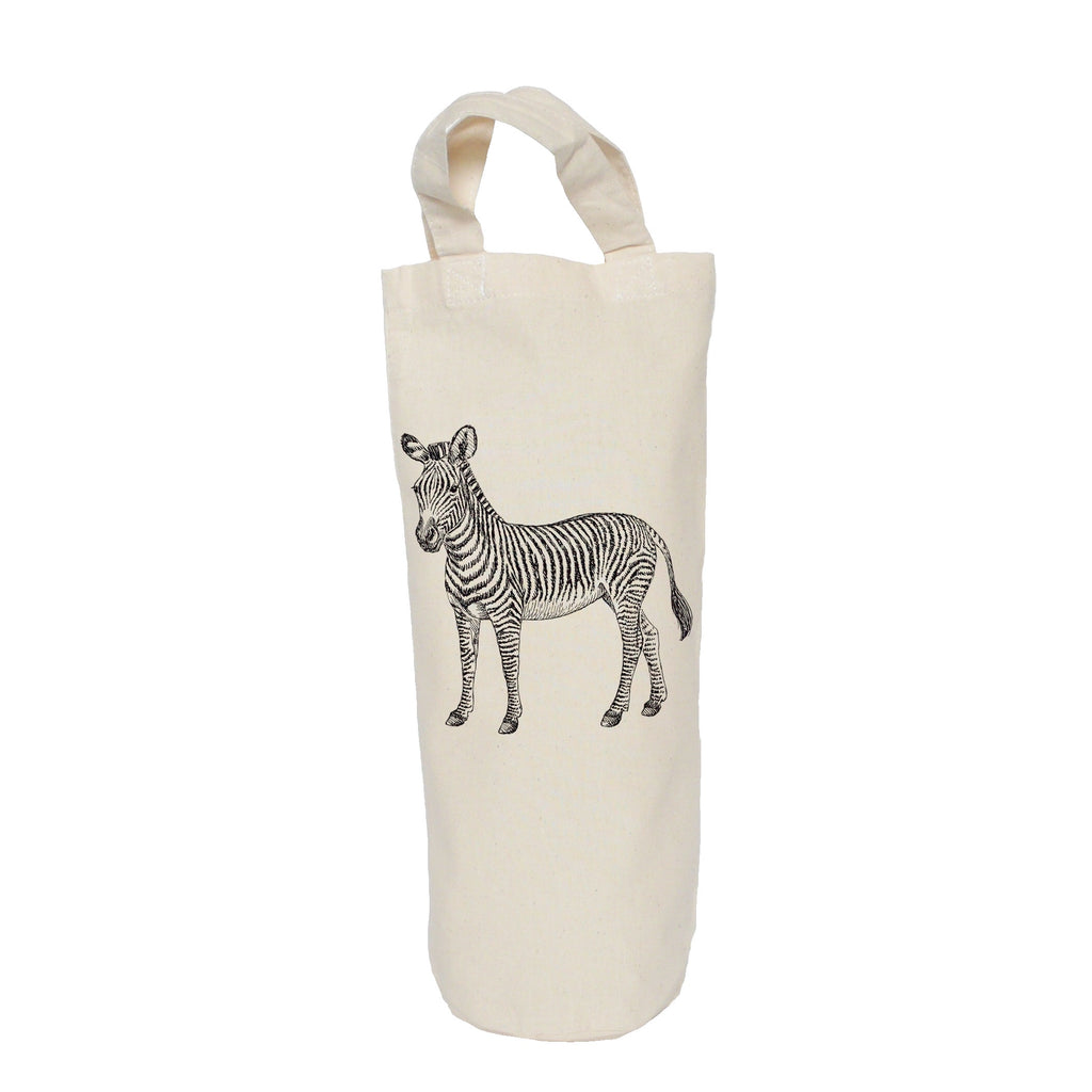 Zebra bottle bag