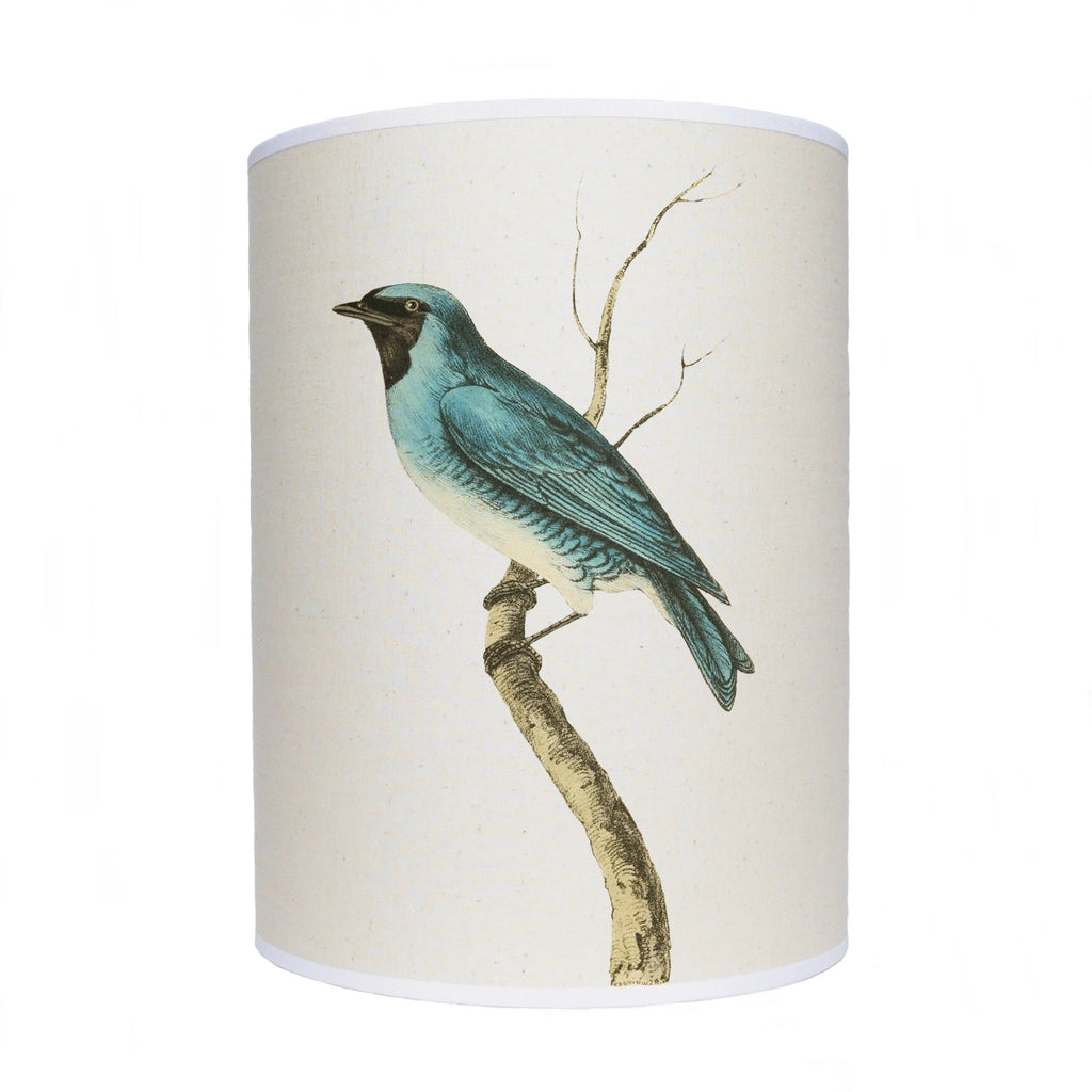 Blue bird lamp shade/ ceiling shade