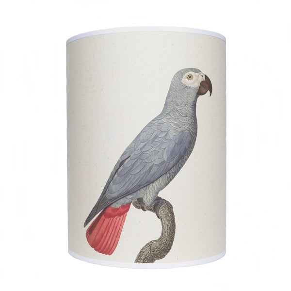 Blue parrot lamp shade/ ceiling shade