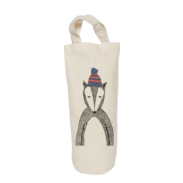 Chad the badger bottle bag