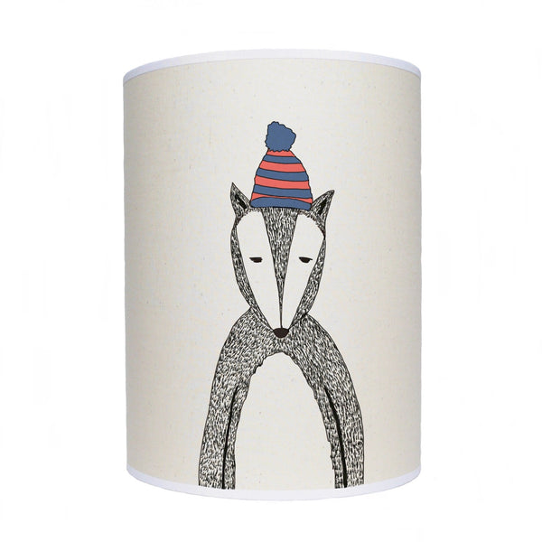Badger lamp shade/ ceiling shade/ Chad the badger