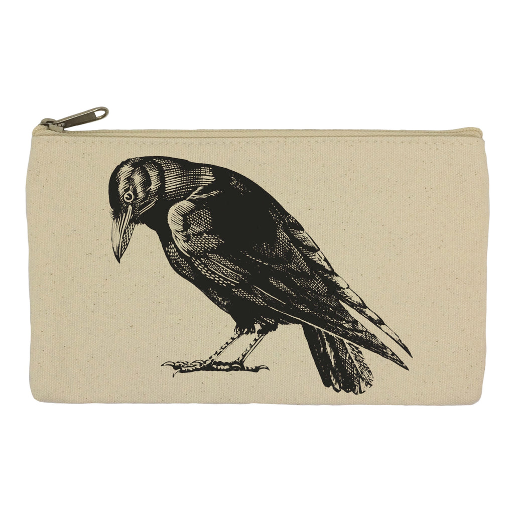 Crow pencil case
