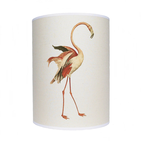 Flamingo lamp shade/ ceiling shade/ dancing flamingo