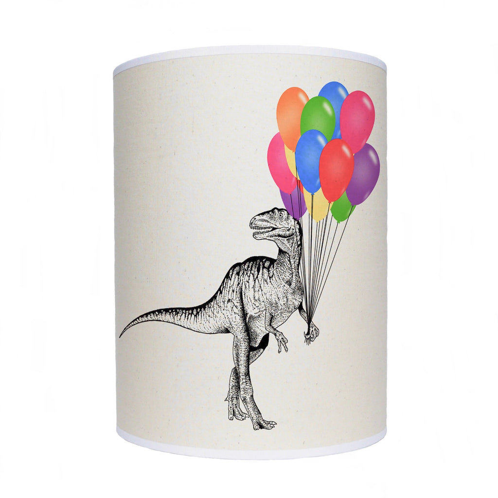 Dinosaur with balloons lamp shade/ ceiling shade