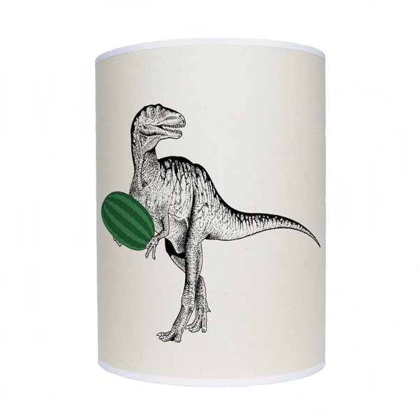 Dinosaur with watermelon lamp shade/ ceiling shade