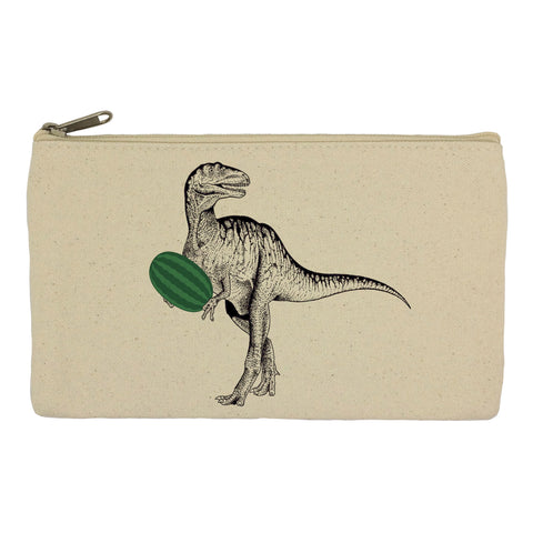 Dinosaur with watermelon pencil case
