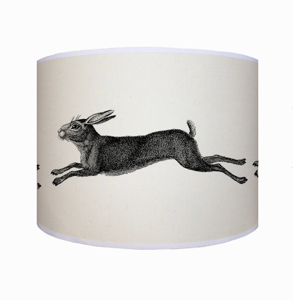 Leaping hare shade